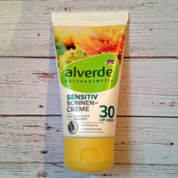 Produktbild zu alverde Sensitiv Sonnencreme LSF 30