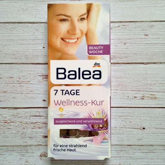 Balea 7 Tage Wellness-Kur - Verpackung