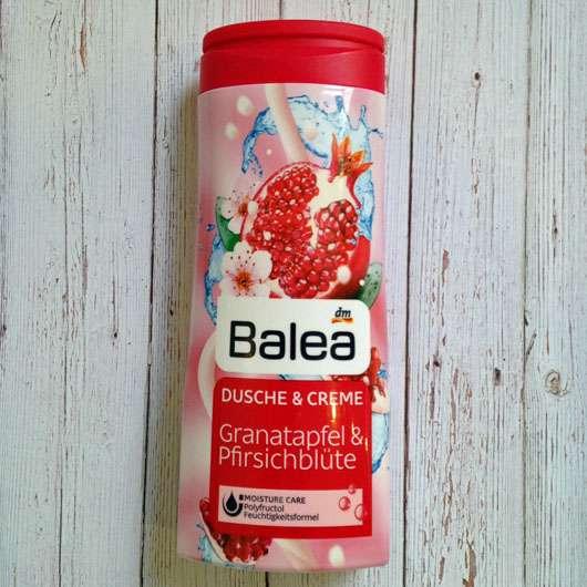 Balea Dusche & Creme Granatapfel & Pfirsichblüte - Flasche