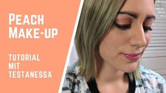 Peach Make-up: Soft und trotzdem ausdrucksstark
