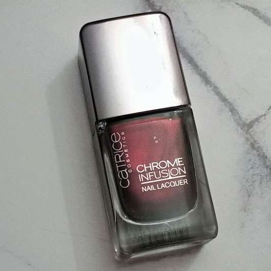 Catrice Chrome Infusion Nail Lacquer, Farbe: 04 Unexpected Red