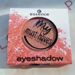 Produktbild zu essence my must haves eyeshadow – Farbe: 11 stay in coral bay