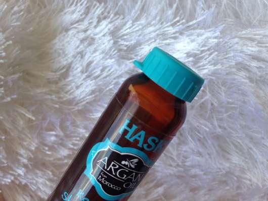 HASK Argan Oil Repairing Shine Hair Oil - Flasche Deckel