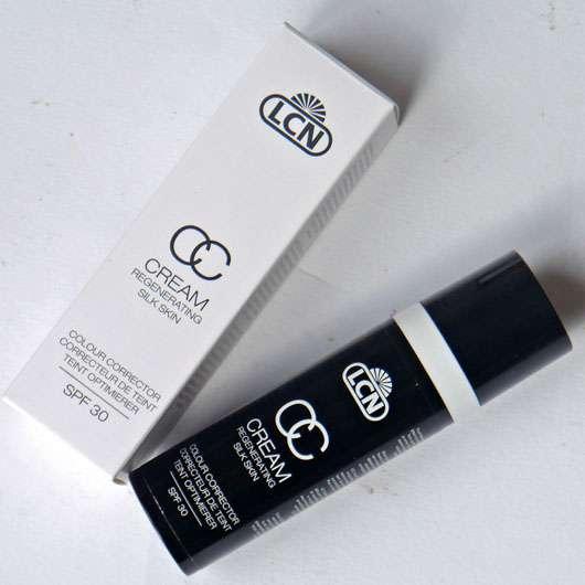 test get nte creme lcn cc cream regenerating silk skin farbe soft caramel testbericht. Black Bedroom Furniture Sets. Home Design Ideas
