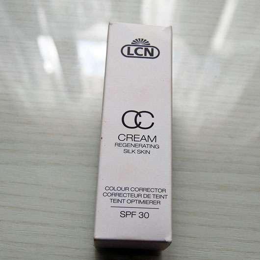 LCN CC Cream Regenerating Silk Skin, Farbe: vanilla cream
