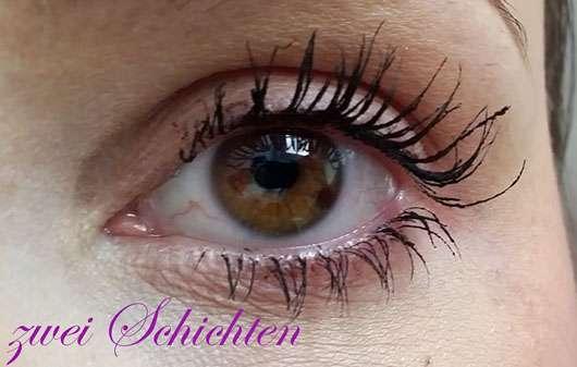 L'ORÉAL PARiS False Lash Schmetterling Mascara Midnight Blacks, Farbe: Extra Black - Wimpern mit zwei Schichten Mascara