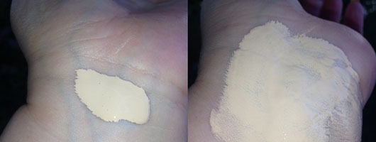 L.O.V LOVtime 18h Long Lasting Foundation, Farbe: 010 Ivory Elegance - Swatches
