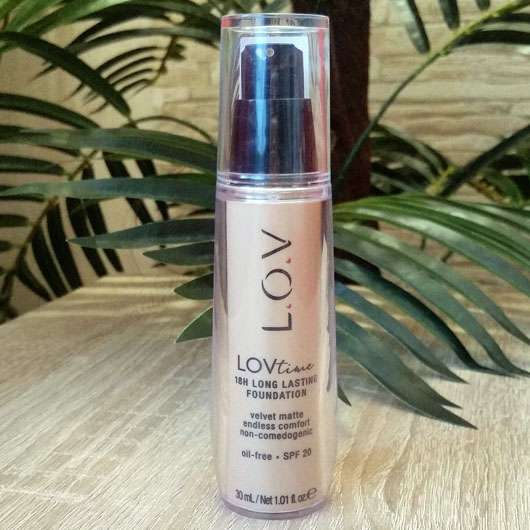 L.O.V LOVtime 18h Long Lasting Foundation, Farbe: 040 Honeymoon