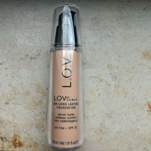 L.O.V LOVtime 18h Long Lasting Foundation, Farbe: 050 Pure Nudity