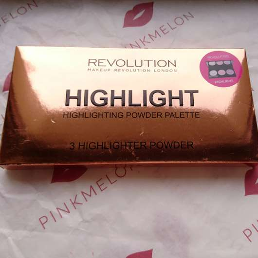 "Makeup Revolution Highlighting Powder Palette ""Highlight"""