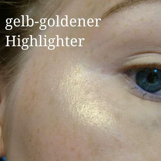 "Makeup Revolution Highlighting Powder Palette ""Highlight"" - Highlighter auf Wangenknochen"