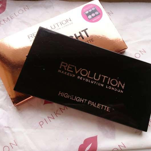 """Makeup Revolution Highlighting Powder Palette """"Highlight"""" - Palette ausgepackt"""