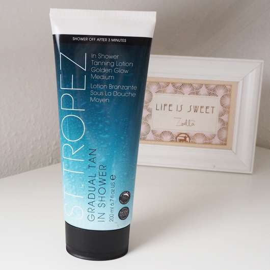 St. Tropez Gradual Tan In Shower Tanning Lotion