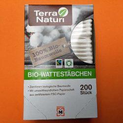 Produktbild zu Terra Naturi Naturkosmetik Bio-Wattestäbchen