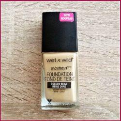 Produktbild zu wet n wild photofocus Foundation – Farbe: Golden Beige