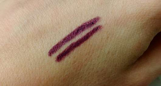 Misslyn Intense Color Eyeliner - Swatches