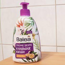 Produktbild zu Balea Creme Seife Kichernder Kakadu (LE)