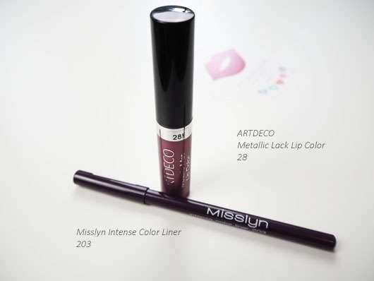 Lipstick und Kajal