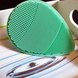 Produktbild zu ebelin Professional Gesichtspeeling + Massagepad