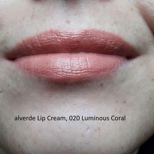 Farbe Nach Streichen Fleckig: Alverde Lip Cream, Farbe: 020