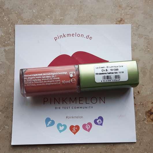 test lippenstift alverde lip cream farbe 020 luminous coral testbericht von suppenhuhn. Black Bedroom Furniture Sets. Home Design Ideas