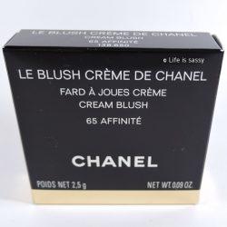 Produktbild zu Chanel Cream Blush – Farbe 65 Affinité