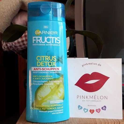 Test Shampoo Garnier Fructis Citrus Detox Anti Schuppen