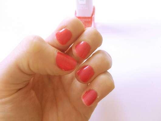 Farbe Coral test nagellack isadora nail nagellack farbe coral glow