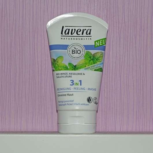 lavera 3in1 Reinigung – Peeling – Maske