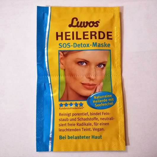 <strong>Luvos</strong> Heilerde SOS-Detox Maske