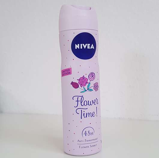 NIVEA Flower Time! Anti-Transpirant Spray (LE)