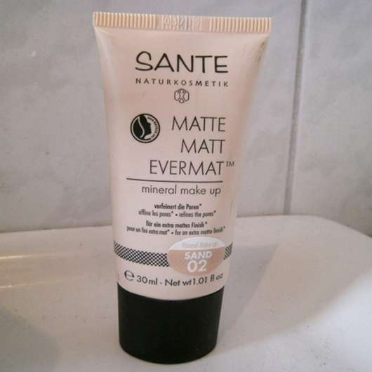 SANTE Matte Matt Evermat Mineral Make up, Farbe: 02 Sand