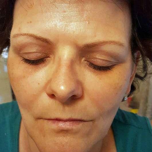 Haut nach dem Eincremen mit der Douglas Perfect Focus Energising Cream