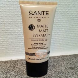 Produktbild zu SANTE Matte Matt Evermat Mineral Make up – Farbe: 01 Natural