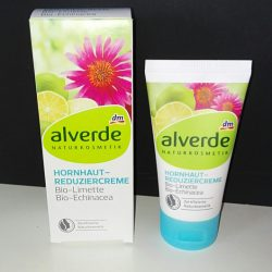 Produktbild zu alverde Naturkosmetik Hornhaut-Reduziercreme Bio-Limette Bio-Echinacea