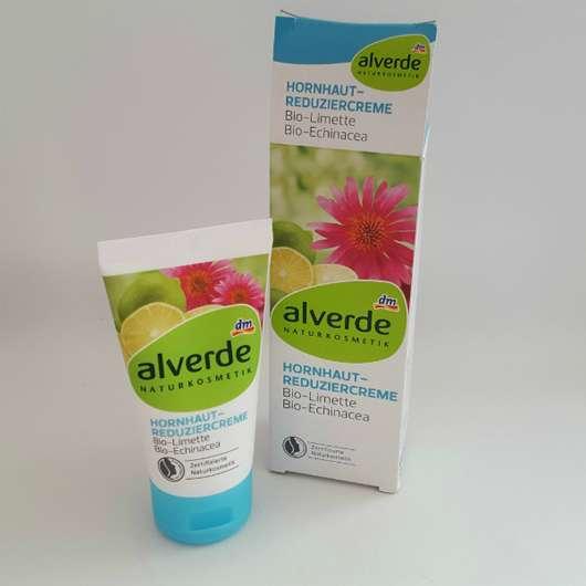alverde Hornhaut-Reduziercreme Bio-Limette Bio-Echinacea