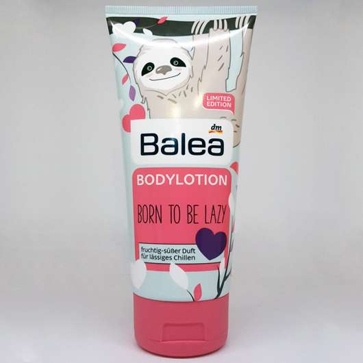 "Balea Bodylotion Faultier ""Born to be lazy"" (LE)"