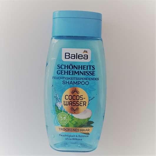 test shampoo balea sch nheitsgeheimnisse feuchtigkeitsspendendes shampoo cocos wasser. Black Bedroom Furniture Sets. Home Design Ideas