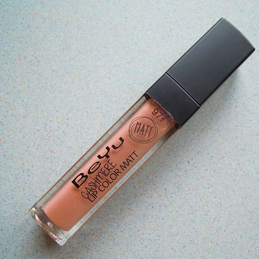 BeYu Cashmere Lip Color Matt, Farbe: 97 Sweet Nude (LE) - Flakon