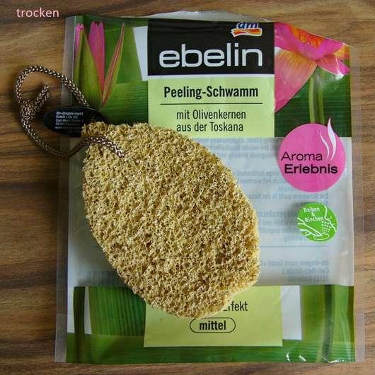 <strong>ebelin</strong> Peeling-Schwamm (mit Olivenkernen aus der Toskana)