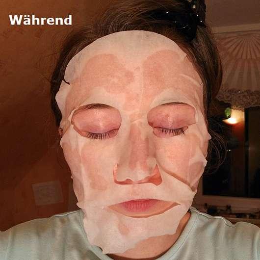 Hey Organic The Ultra Hydrator Tuchmaske - Gesicht mit der Maske