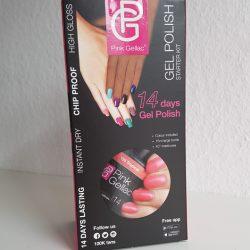 Produktbild zu Pink Gellac Gel Polish Starter Kit LED L – Farbe: 156 Tropical