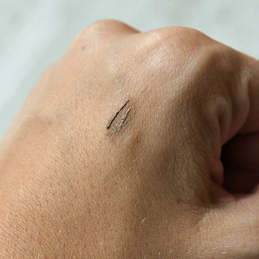 SANTE Tinted Brow Talent, Farbe: 01 Blondie - Swatch