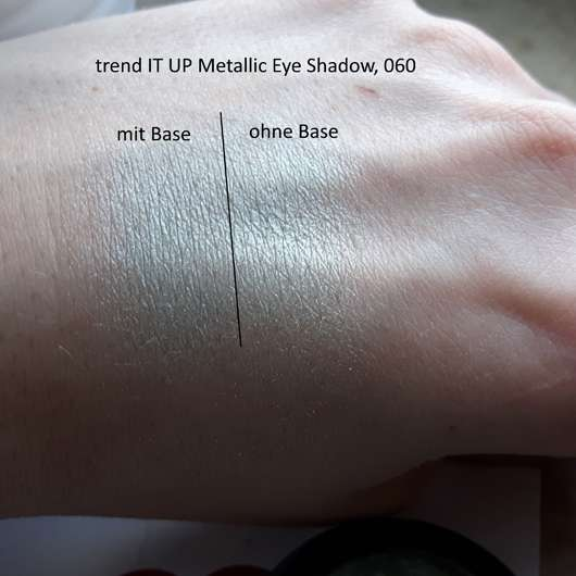 Swatches - trend IT UP Metallic Eye Shadow, Farbe: 060