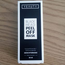 Produktbild zu YEAUTY Black Head Peel Off Mask