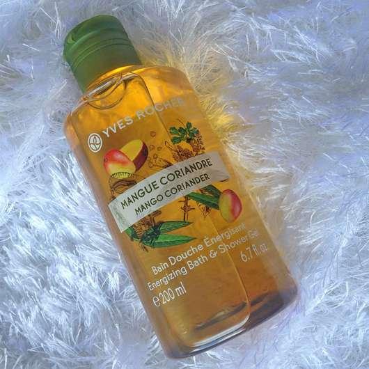 Yves Rocher Plaisirs Nature Duschbad Mango Koriander
