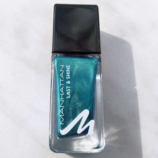 test nagellack manhattan last shine nail polish farbe 830 almost emerald testbericht. Black Bedroom Furniture Sets. Home Design Ideas
