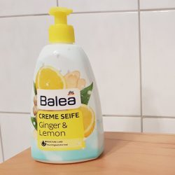 Produktbild zu Balea Cremeseife Ginger & Lemon