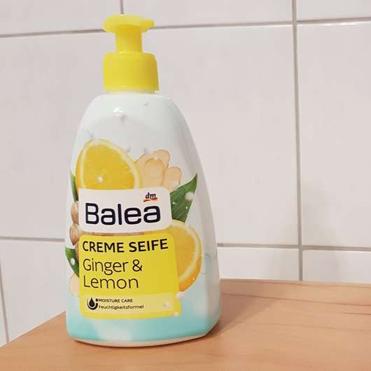 Balea Creme Seife Ginger & Lemon Design