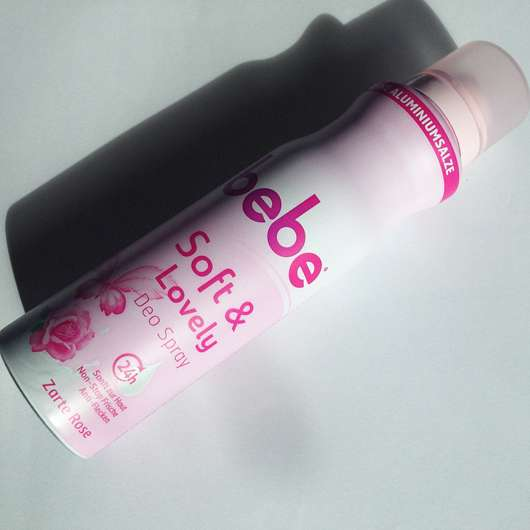 <strong>bebe®</strong> Soft & Lovely Deo Spray Zarte Rose